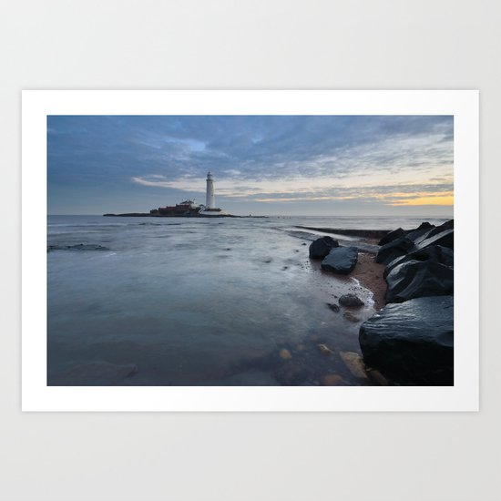 St Marys Lighthouse Art Print