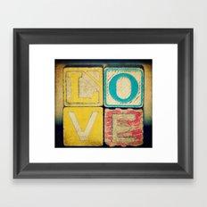 Old Love  Framed Art Print