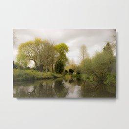 Water Garden Metal Print