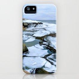 Ocean Ice iPhone Case