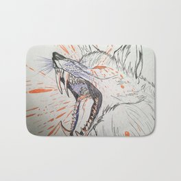 Screaming in Motion Bath Mat