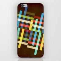 Up and Sideways iPhone & iPod Skin