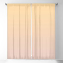 Ombre Vintage Rose Dusty Pink and Gold Blackout Curtain