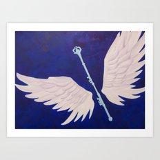 Childhood Memories - Sailor Moon Inspired Art Print