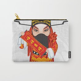 Beijing Opera Character FuXing Carry-All Pouch