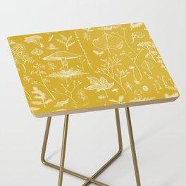 Woodland Walk / Mustard Side Table