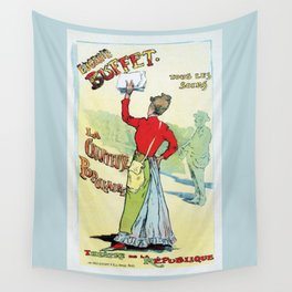 Female singer Eugenie Buffet Wall Tapestry