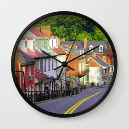 Harpers Ferry Wall Clock