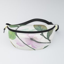 Dogwood Painting Fanny Pack