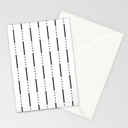 Morse Code #159 Stationery Cards