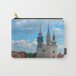 Croatia Skyline Carry-All Pouch