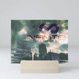Infinitek Seattle Mini Art Print