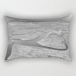 River Maze Rectangular Pillow
