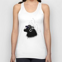 psychadelic Tank Tops featuring Monkey Tripping by Nicklas Gustafsson