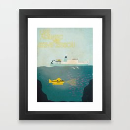 Life Aquatic Framed Art Print