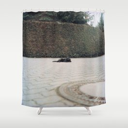 Queen of the Street Shower Curtain