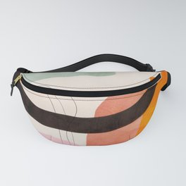 mid century organic shapes spring 21 /3 Fanny Pack