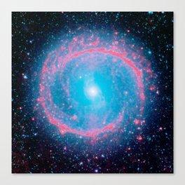 Lying in a zero circle ii Canvas Print