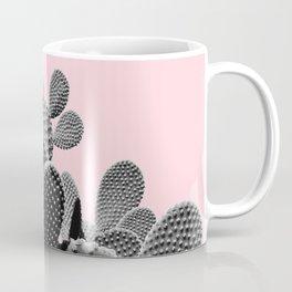 Bunny Ears Cactus on Pastel Pink #cactuslove #tropicalart Coffee Mug