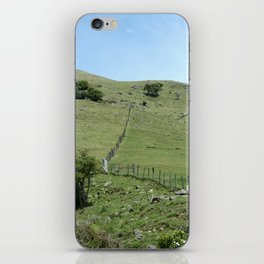 Over the hill iPhone Skin
