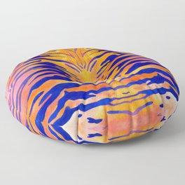 Tiger Stripes Floor Pillow