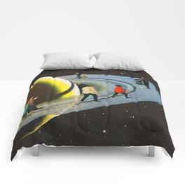 Saturn's Rink Comforters