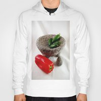 mexican Hoodies featuring Mexican mortar by lennyfdzz