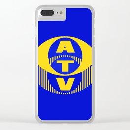 ATV Clear iPhone Case