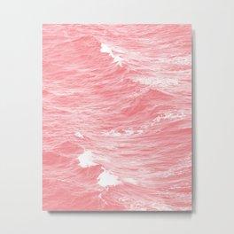Pink Sea Metal Print