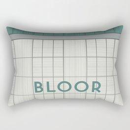 BLOOR | Subway Station Rectangular Pillow