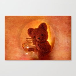 My Teddy Bear Toy Canvas Print