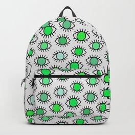 Green Eyes Backpack