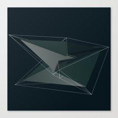 3d shapes Canvas Print
