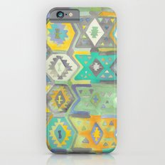 Kilim Me Softly in Turquoise Slim Case iPhone 6s