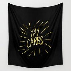 yay carbs Wall Tapestry