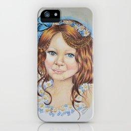 Little flower fairy iPhone Case
