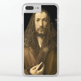 Albrecht Durer - Self Portrait At The Age Of Twenty  Eight Clear iPhone Case