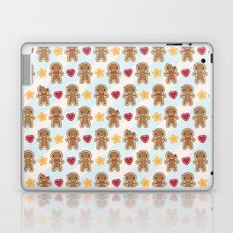 Cookie Cute Gingerbread Men Laptop & iPad Skin