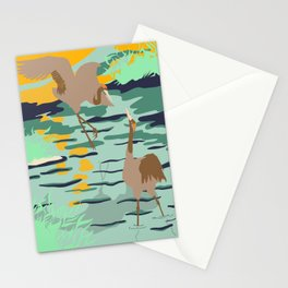 Mating Ritual Stationery Cards