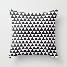 triangles pattern #1 Throw Pillow