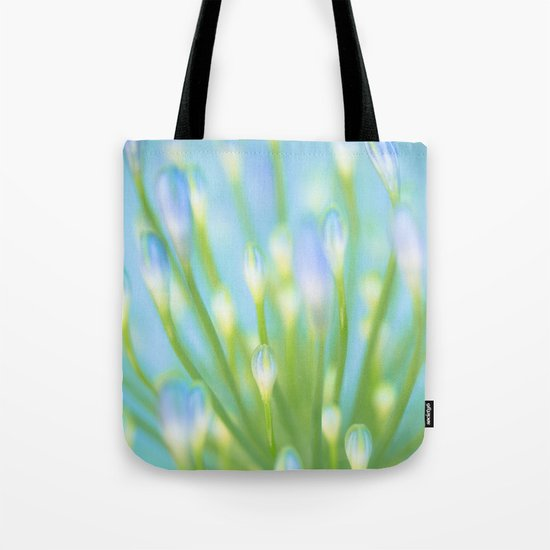 Blue & Green Tote Bag