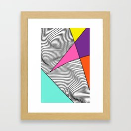 Vibrating Star Catalyst Framed Art Print