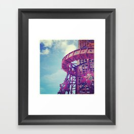 Disney Helter Skelter Framed Art Print