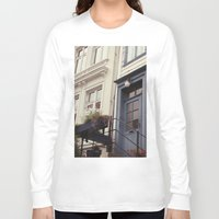 norway Long Sleeve T-shirts featuring Norway II by Cynthia del Rio