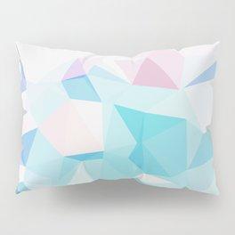 Geo Crystals - Pastel Pillow Sham
