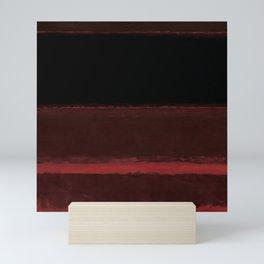 1958 Four Darks on Red by Mark Rothko Mini Art Print