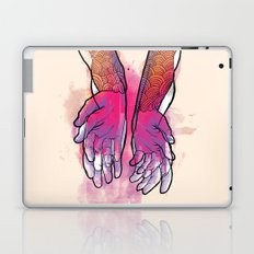 Dirty hands Laptop & iPad Skin
