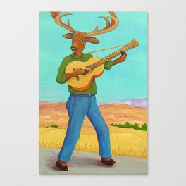 The Balladeer Canvas Print