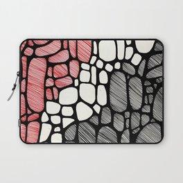 Piedras Rayadas 1 Laptop Sleeve