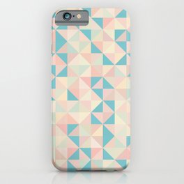 Summer Dreams / Pastel Tiles iPhone Case